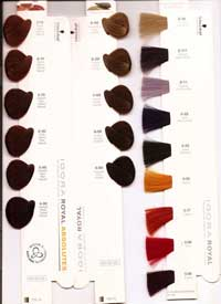 Carta de color tinte igora royal schwarzkopf