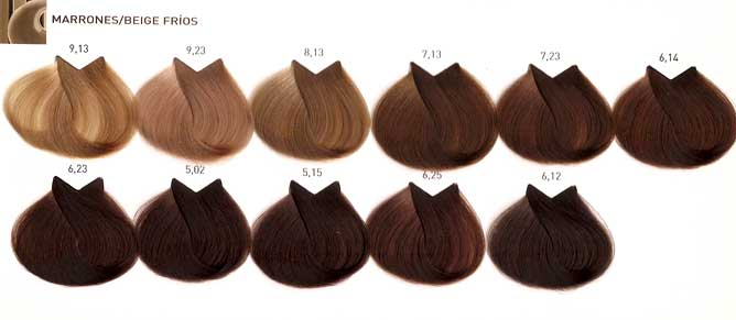 Majirel Carta De Colores http://sengook.com/carta-de-colores-tintes-del-pelo-loreal-majirel-marrones-beiges.html
