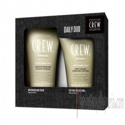 Pack American Crew mousturizing shave cream+ post shave cooling lotion