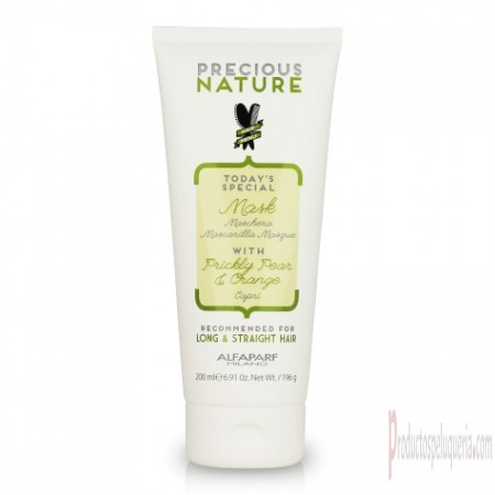 Mascarillas Alfaparf Precious Nature Capri long and straight mask