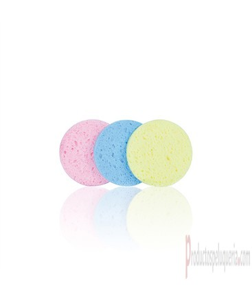 Bifull Set Esponjas Desmaquillar 80mm Circle Colours 3uds