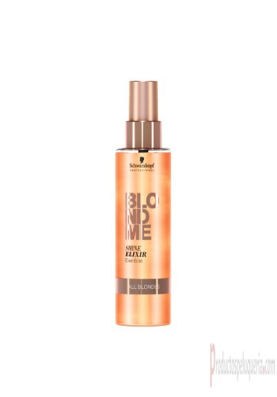 Brillo cabello schwarzkopf blondme spray elixir de brillo 150 ml