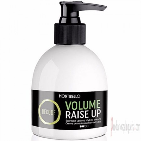 Montibello Decode Volume Raise Up Crema Peinado Volumen Extremo