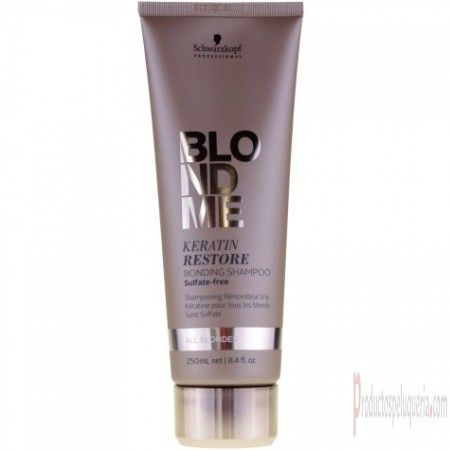 Acondicionador Schwarzkopf Blond Me All Blondes Keratin Restore Bonding Shampoo 250 ml