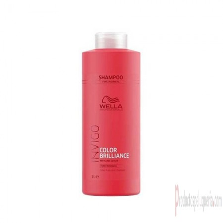 Wella Invigo Color Brilliance fine hair shampoo 1000ml