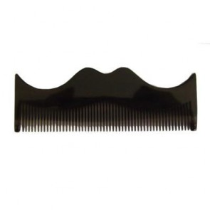 Moustache Comb - Grey