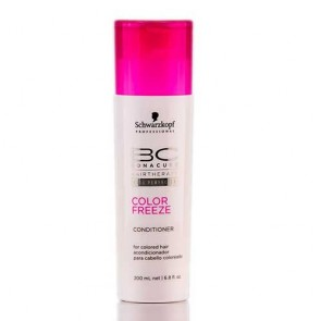 Acondicionador schwarzkopf bc color freeze conditioner