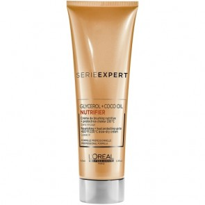 Loreal Serie Expert Nutrifier Nourishing + Heat Protecting Blow-Dry Cream 150 ml