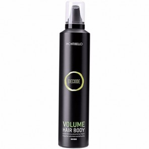 Montibello Decode Volume Hair Body Espuma Volumen Extrafuerte