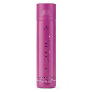 Laca Schwarzkopf Silhouette Color Brilliance Strong Hold Hairspray