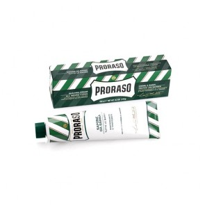 Proraso Green Shaving Cream In a Tube tu crema de afeitar