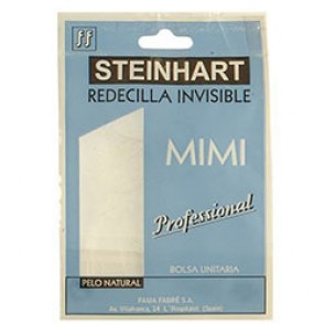 Redecilla red invisible pelo natural blanco