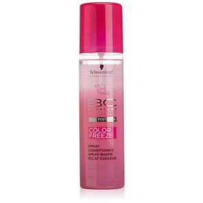 Acondicionador sin aclarado schwarzkopf bc color freeze spray conditioner